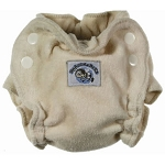 Blueberry newborn fitted nappy