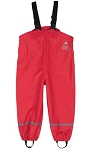 Frugi Puddle Buster trousers Tomato
