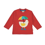 Frugi Little Discovery Applique Top