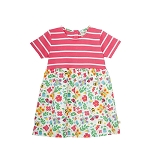 Frugi Little Zennor dress - Garden friends