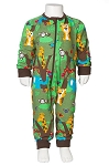 JNY Jungle zip romper