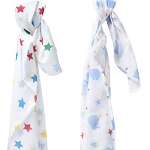 Piccalilly Muslin swaddles