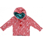Piccalilly floral bunny reversible quilted jacket