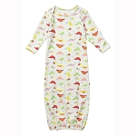 Piccalilly dinosaur floral night gown