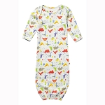 Piccalilly dinosaur footprint night gown