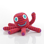 Pebble Knitted Mini Octopus