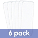 Bumgenius stay dry liners pack of 6