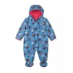 Frugi Billie pram suit - hedgehog adventure 3-6 months