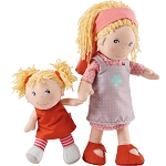 Haba Lennja and Elin doll sisters