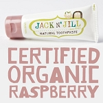 Jack N' Jill Natural Calendula Toothpaste Raspberry Flavour 50g