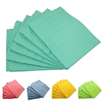 Muslinz  6 pack  70cm squares  (mint, blue, or pink)