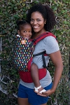 Tula Ergonomic Baby Carrier - Little Robots