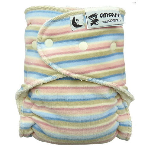 Anavy night/XL fitted nappy