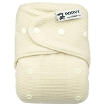 Anavy one size wool cover - natural