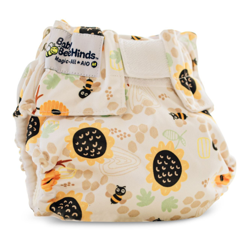 Baby beehinds Magicalls all in one sized nappy