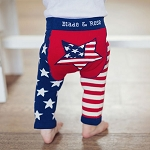 Blade and Rose USA flag leggings