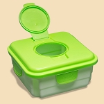 Cheeky wipes mucky box - green or pink (new style)