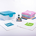 Cheeky wipes hands and face wipes kit