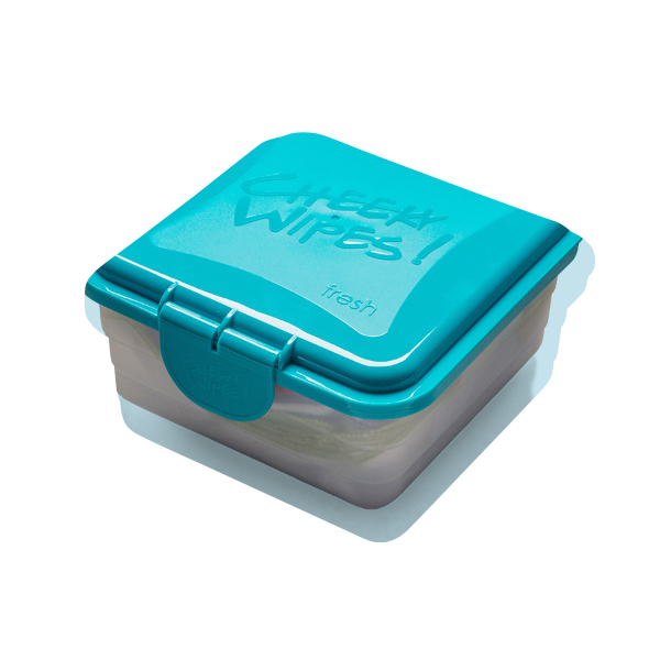 Cheeky wipes fresh box - blue or pink
