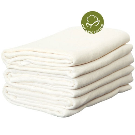 Disana Organic Muslins single, 3 pack or 5 pack