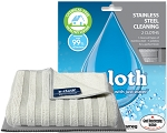 E-cloth stainless steel cleaning 2 cloths