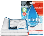 E-cloth wash and wipe 2 cloths