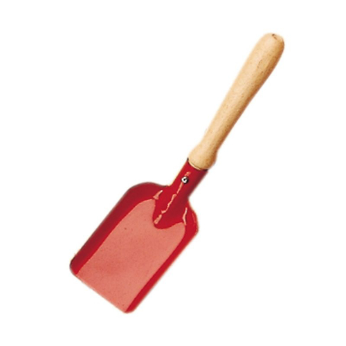Gluckskafer metal and wood small spade - blue or red