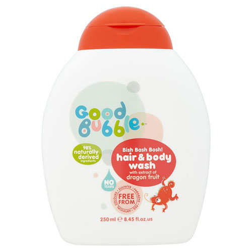 Good bubble hair and body wash - dragon fruit extract 100ml