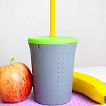 Gosili silicone straw cup (12oz/350ml)