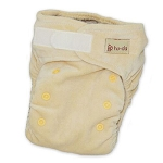 Hu-da organic velour fitted nappy 2.0
