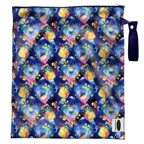 Planet wise Medium Lite Wet Bags - Imagine prints