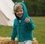 Kite Lulworth hoodie -jade bear fleece