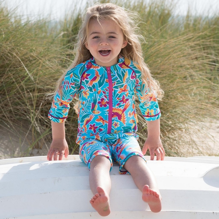 Kite rainforest UV sunsuit