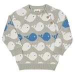 Kite Whale knitted jumper
