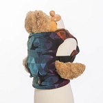 Lenny lamb doll carrier Swallows rainbow dark