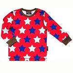 Maxomorra stars long sleeve top