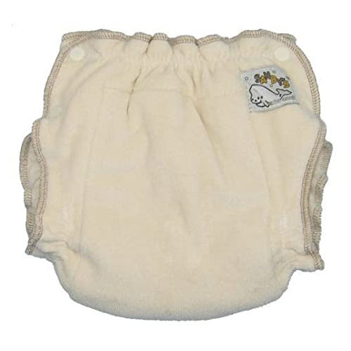 Mother-ease Sandys fitted organic cotton nappy