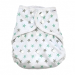 MuslinZ nappy cover size 1 (newborn) and 2