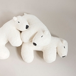 Nanami Nanook the Polar bear travel pillow