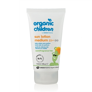Organic Children Sun Lotion Medium