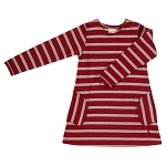 Pigeon breton dress red/string