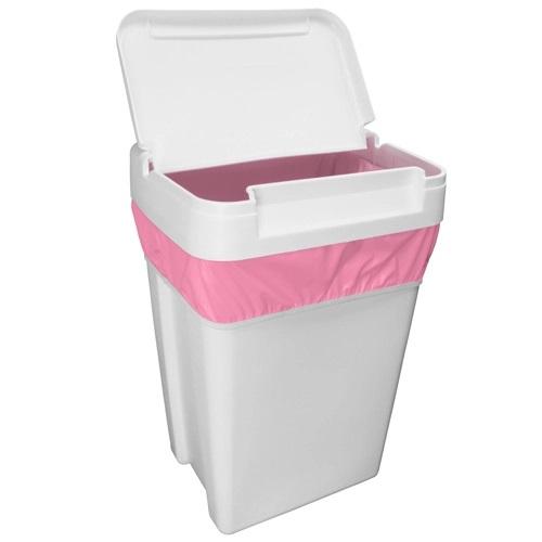 Planet Wise Antibacterial Laundry Bag Raspberry