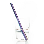 Stainless smoothie straw