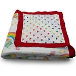 Care bear serene reversible blanket