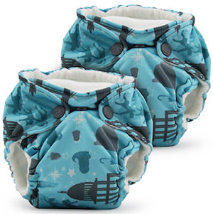 Rumparooz lil joeys newborn no packaging single nappies