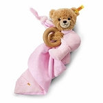 Steiff sleep well bear 3 in 1 - pink