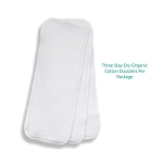 Thirsties stay dry organic cotton doublers pack 3