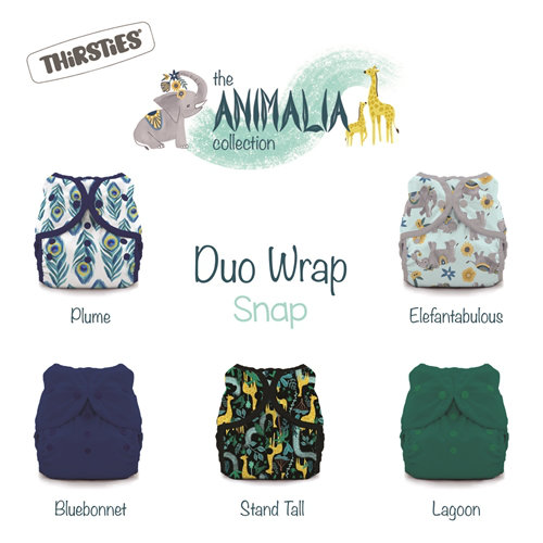 Thirsties duo wrap snaps size 1, 2 and 3