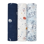 Aden and Anais silky soft muslin swaddles 3 pack