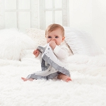 Aden and Anais muslin security blanket 2 pack